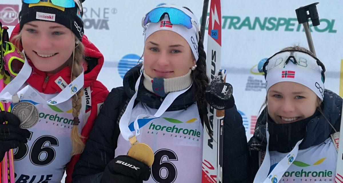 Gull, bronse og 5. plass! Norge herjet under sprinten i Osrblie