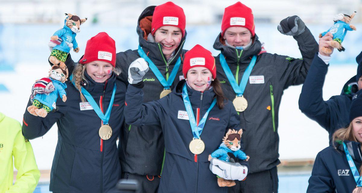 Seks medaljer til Norge i ungdoms-OL