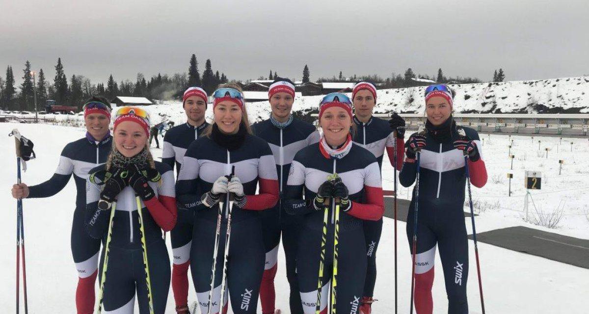 Team OASSK utøvere sesongen 2018/2019