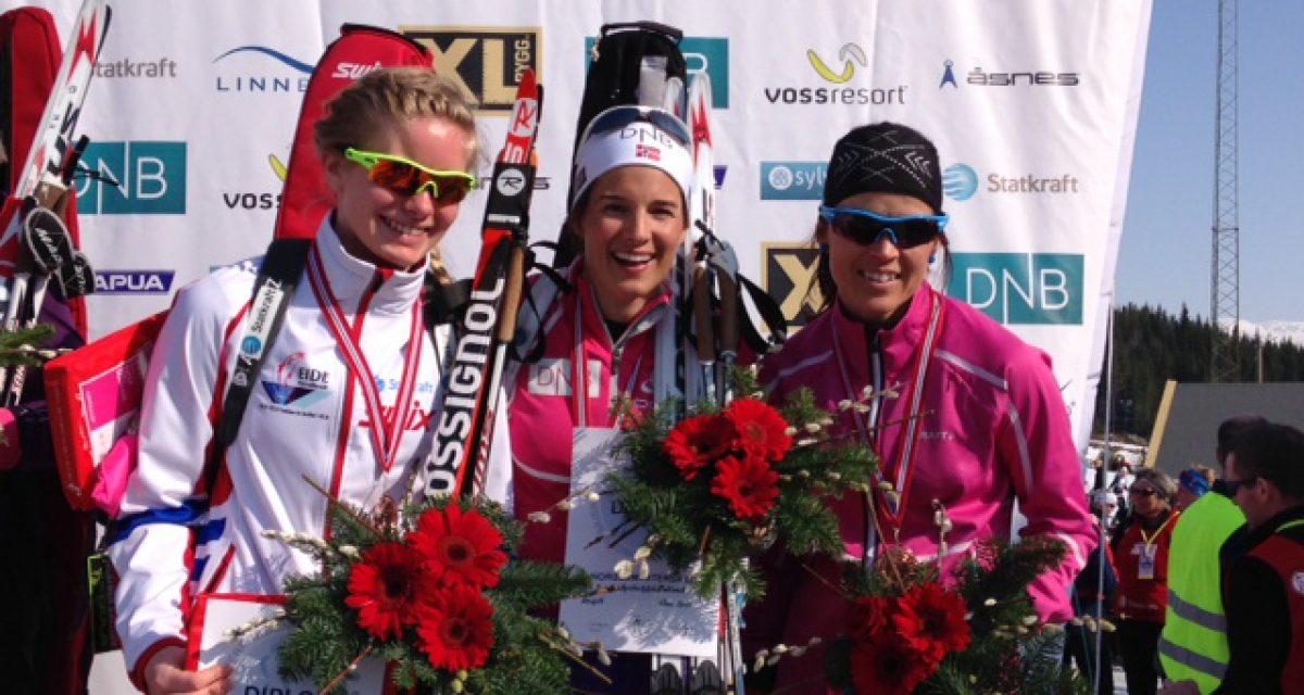 Hordaland med 3. og 4. plass på stafetten i NM