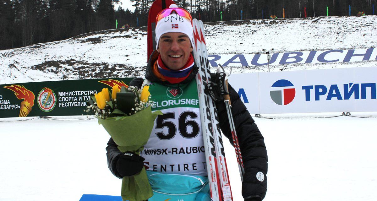 4. plass til Andreas Kjeverud Eggen i Junior-VM