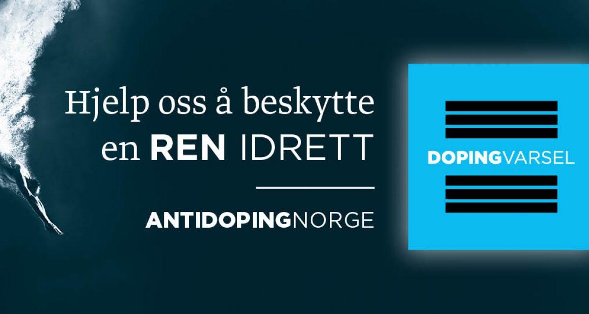 Ny anonym varslingskanal for doping i idretten