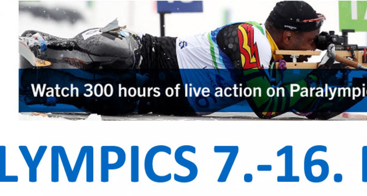 Se Paralympics live