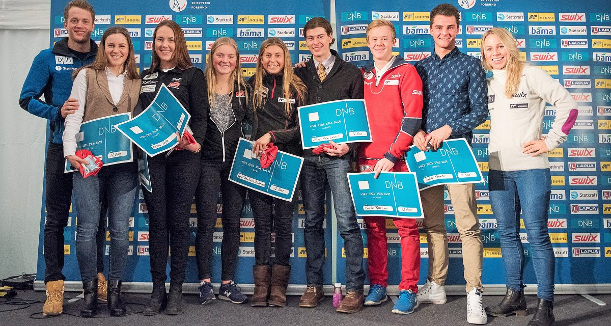 DNB stipend til unge, lovende skiskyttere