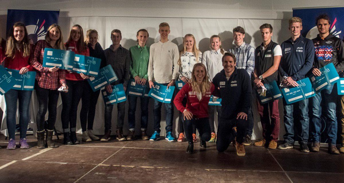 Unge skiskyttere mottok DNB-stipend