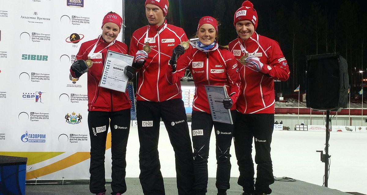 Tre medaljer til Norge i EM så langt