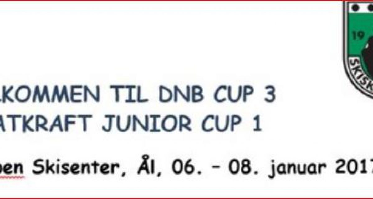 DNB CUP 3 – STATKRAFT JUNIORCUP 1  på Liatoppen.