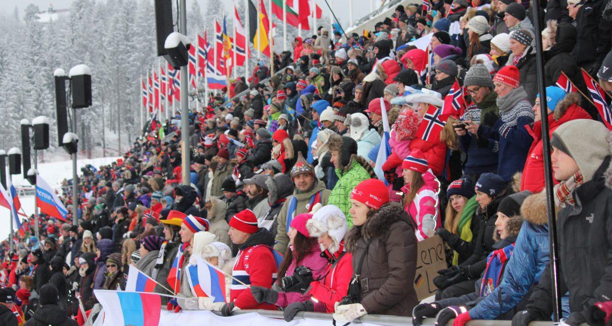 Forsett skiskytterfesten i Holmenkollen!