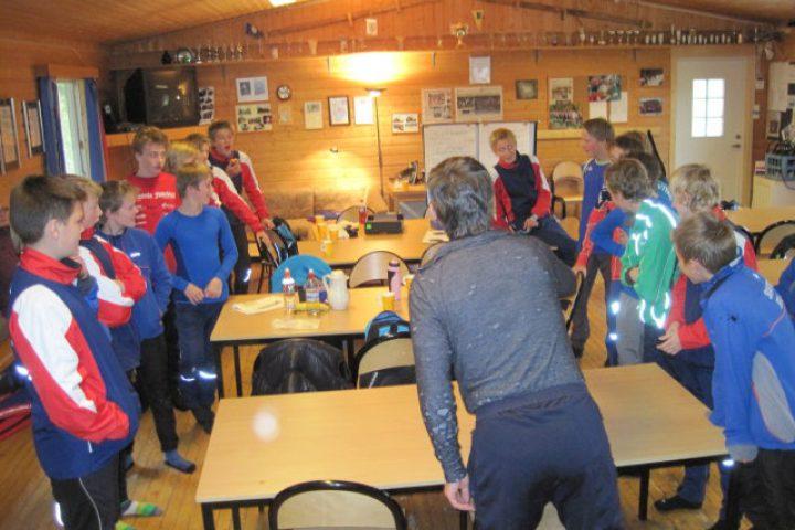 Rapportering skiskytterskole