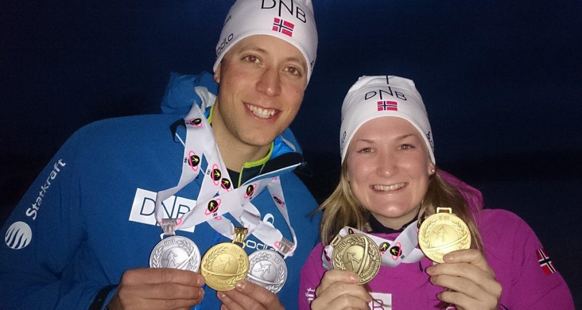 5 medaljer til Norge i EM (U26)