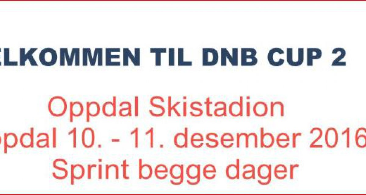 DNB CUP 2 Oppdal.
