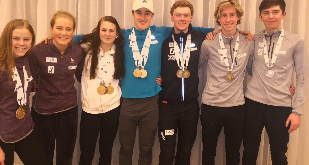 Norge vinner medaljestatistikken i jr- og ungdom-VM