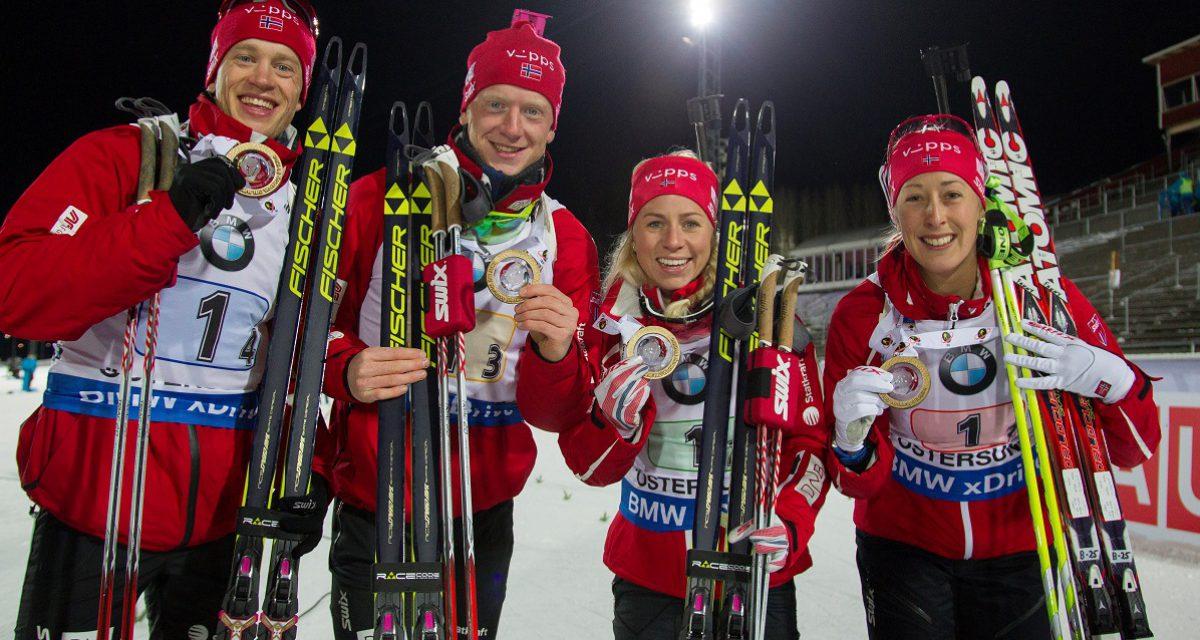 Dobbelt norsk i verdenscupåpningen