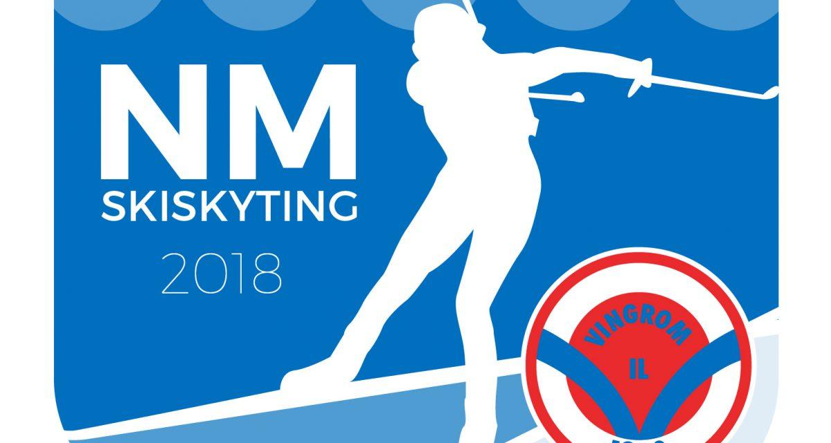 NM skiskyting 4.-8. april 2018