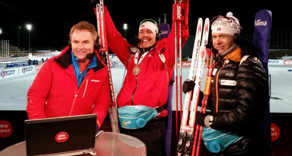 Skiskyting mest pop på TV