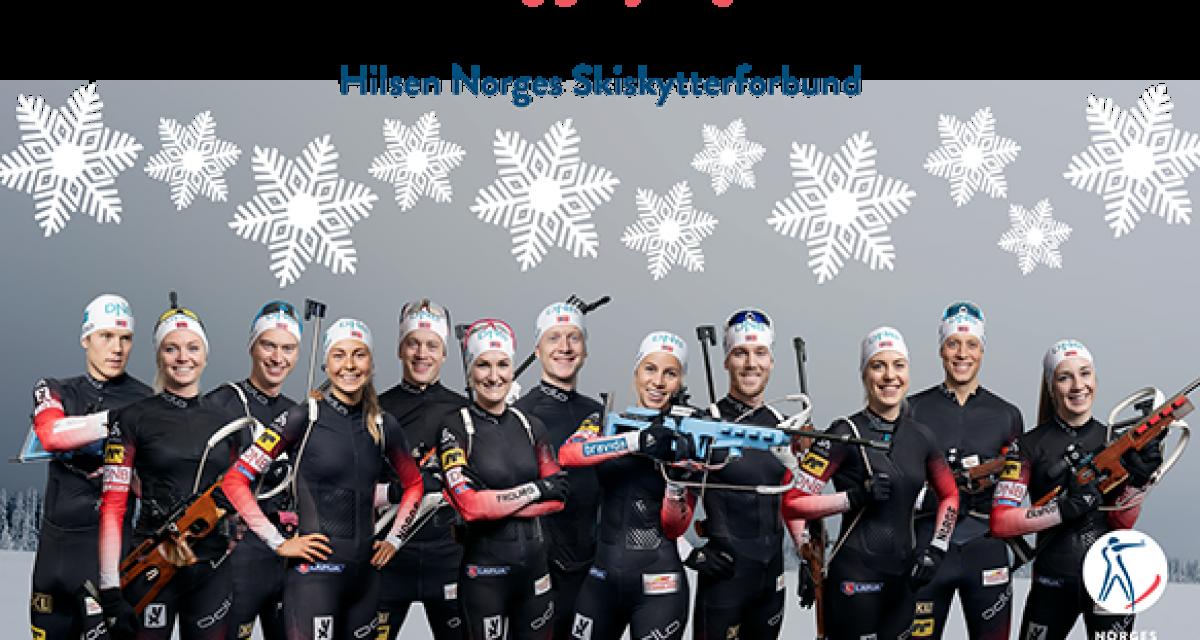 God jul til alle skiskyttervenner!