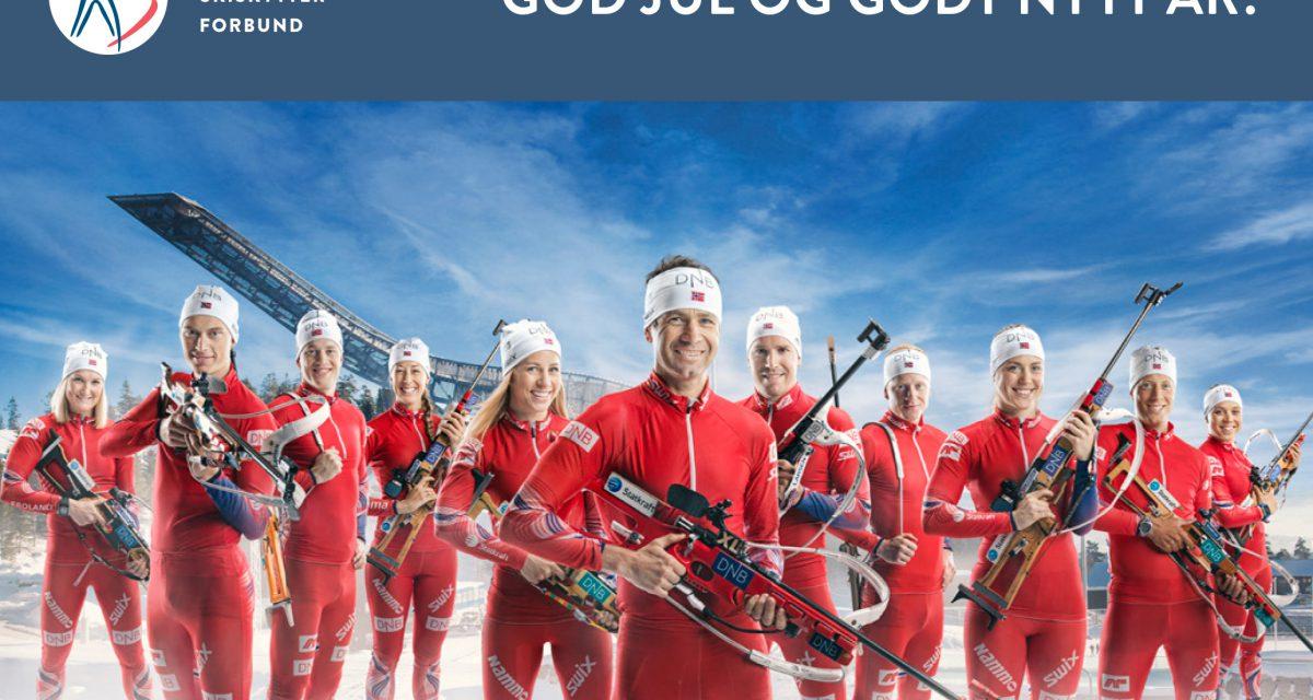 God jul til alle skiskyttervenner