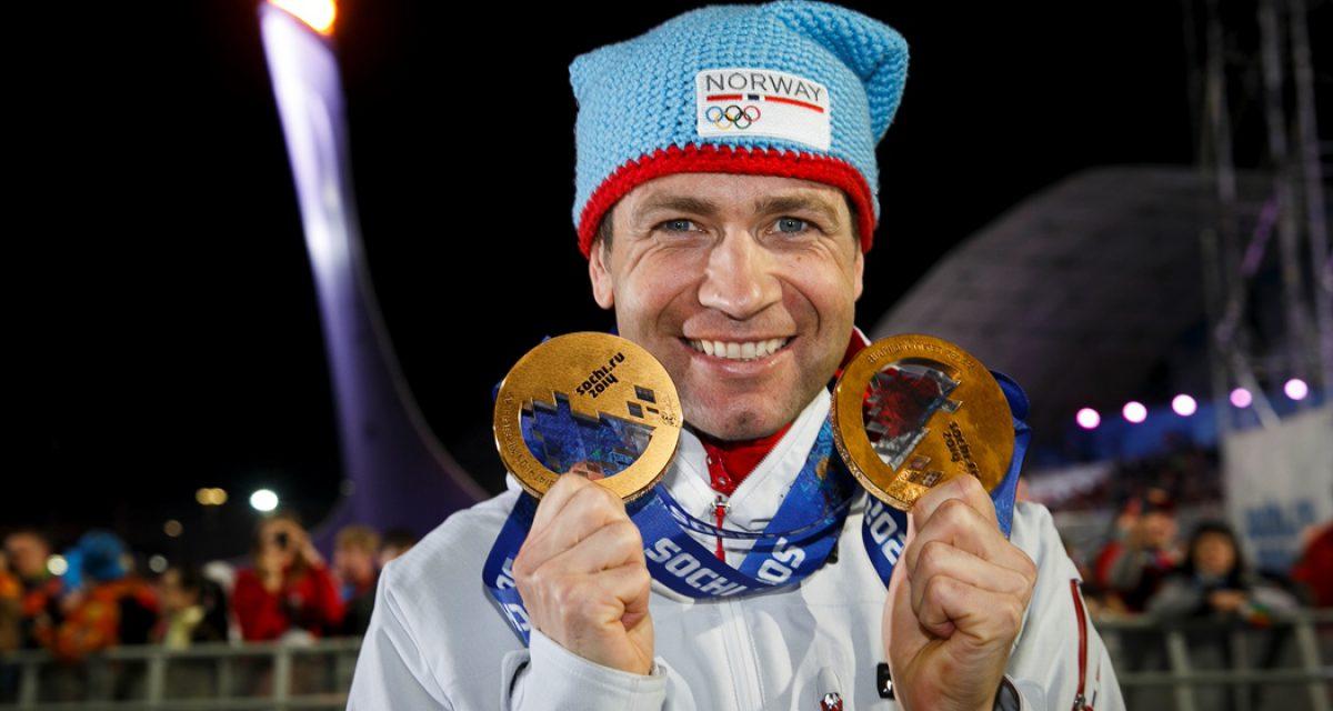 Ole Einar mottok prisen for beste mannlige utøver i Sotsji-OL