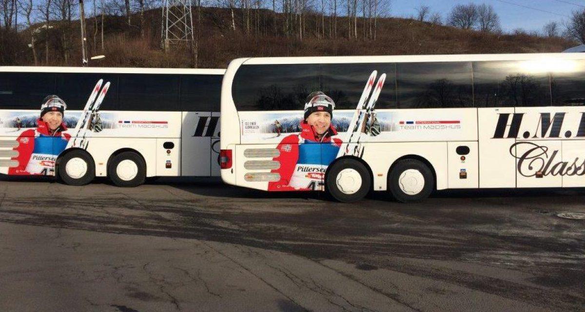 Busser fra Simostranda til Kollen