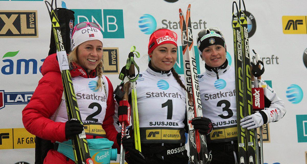Italiensk seier på kvinnenes sprint