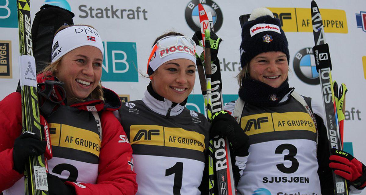Dorothea Wierer vant igjen!