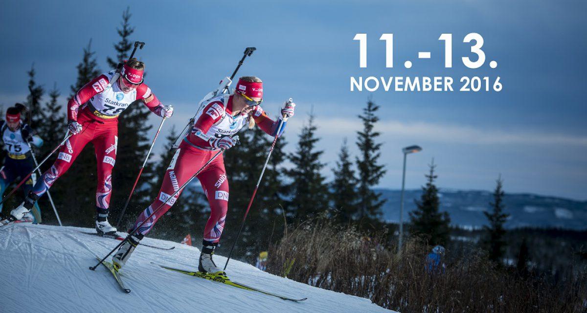 Sesongstart Skiskyting 11.-13. november – oppdatert info
