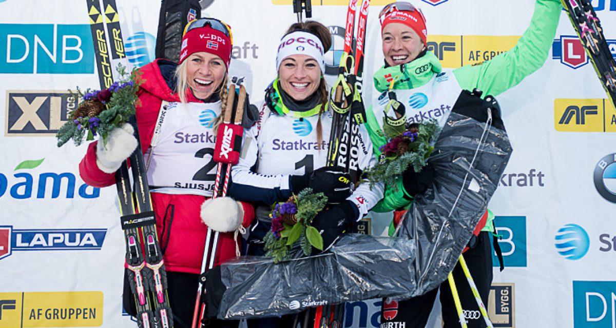 Dorothea Wierer vant sesongens første