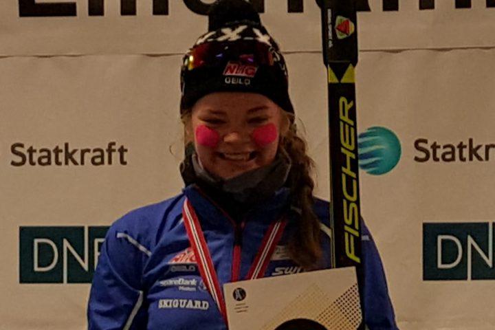 Norgesmesterskaps-medaljer til Buskerud