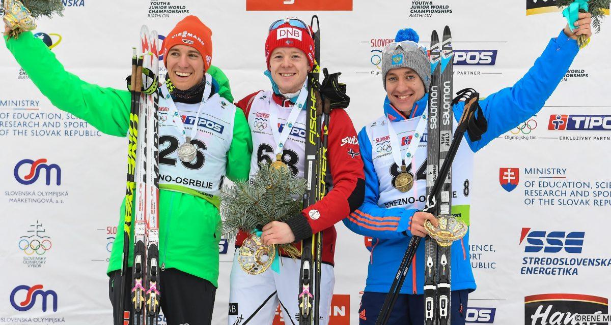 VM-gull til Sindre Pettersen