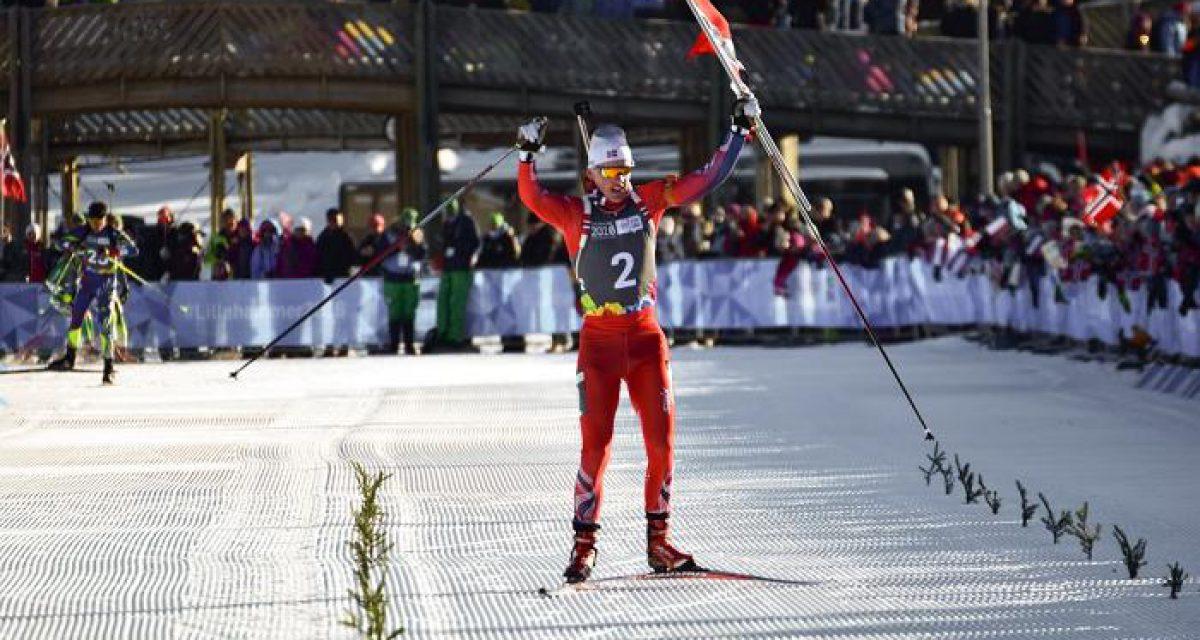 Sivert Bakken sikret Norges første gull i ungdoms-OL!