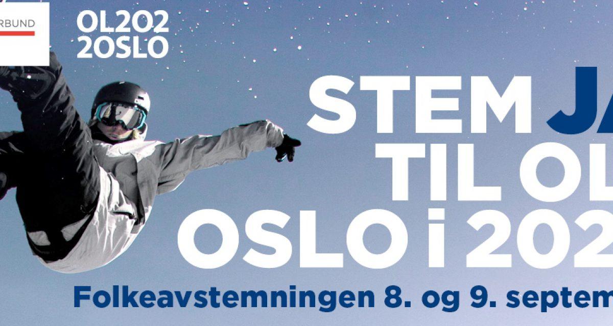 Stem JA til OL i Oslo i 2022!