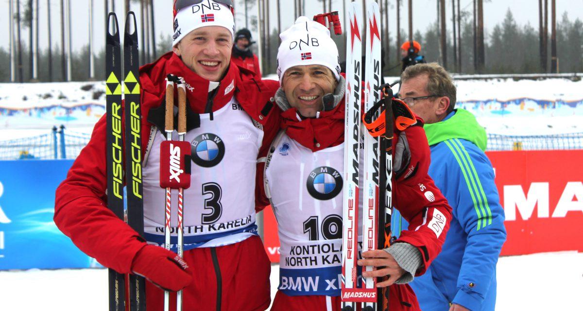 3 VM-konkurranser – 3 medaljer
