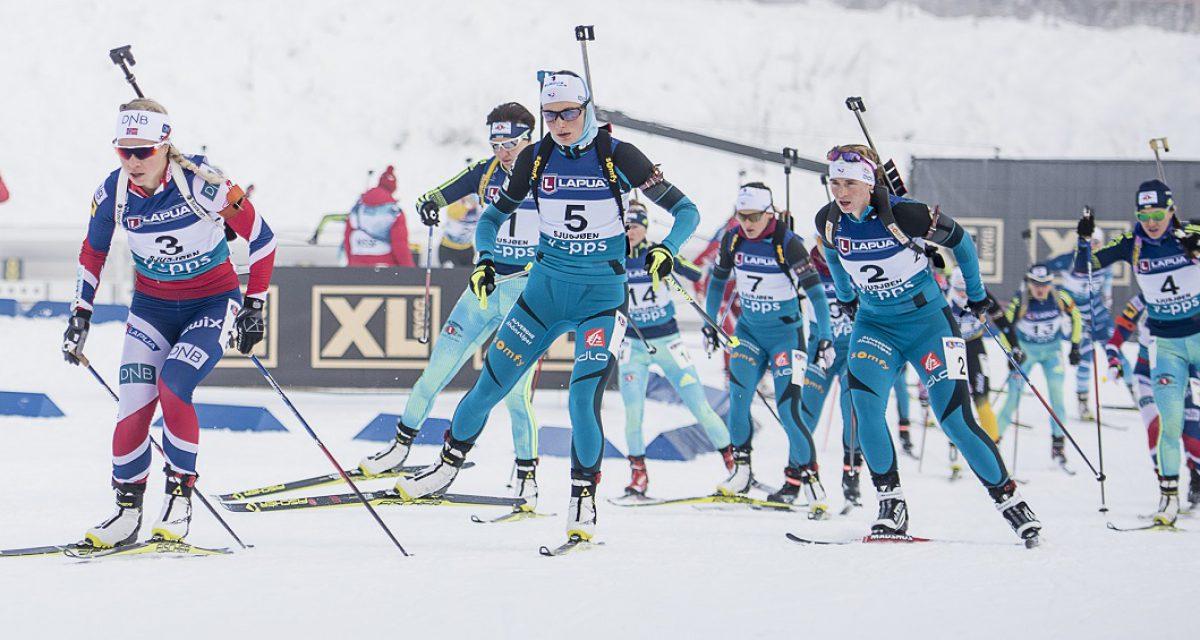 Karoline Erdal med super 4. plass på fellesstarten