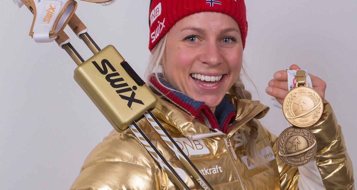 Norsk gull og sølv på VM-sprintene