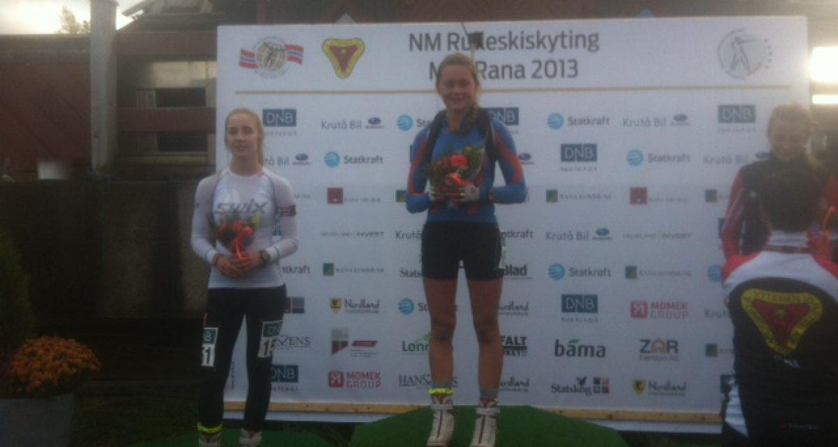 NM rulleskiskyting – Une Kvelvane, Voss,  Norgesmester!