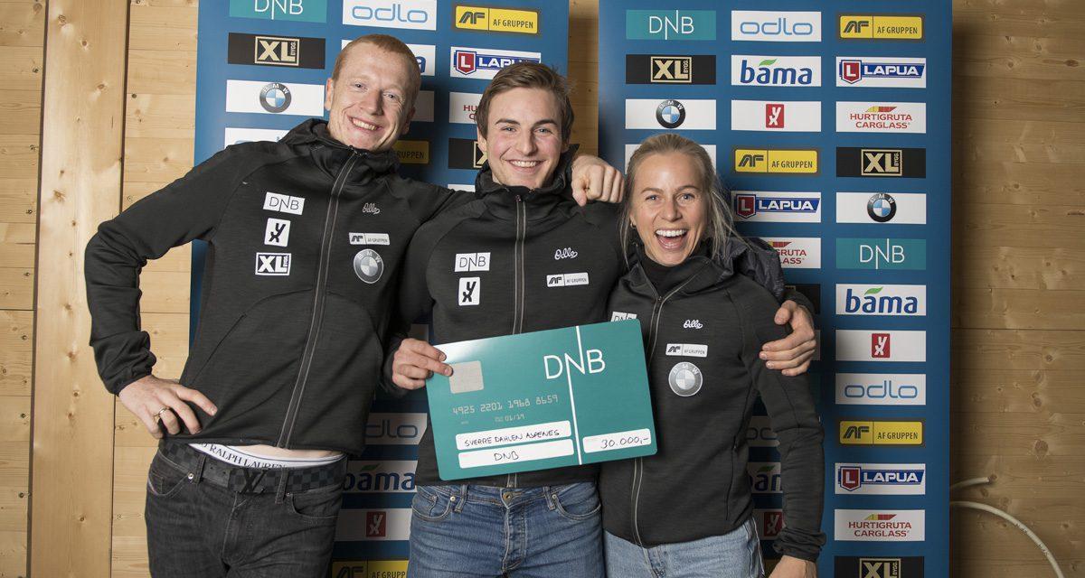 Vinnere av DNB-stipend 2018