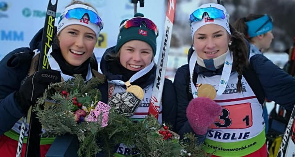 Gull til Norge i klassen ungdom under junior VM!