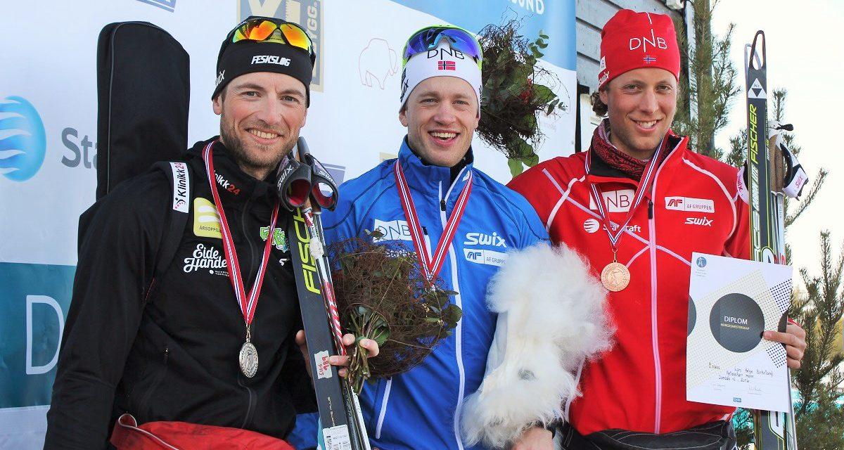 Marte Olsbu og Tarjei Bø vant årets siste NM-konkurranser