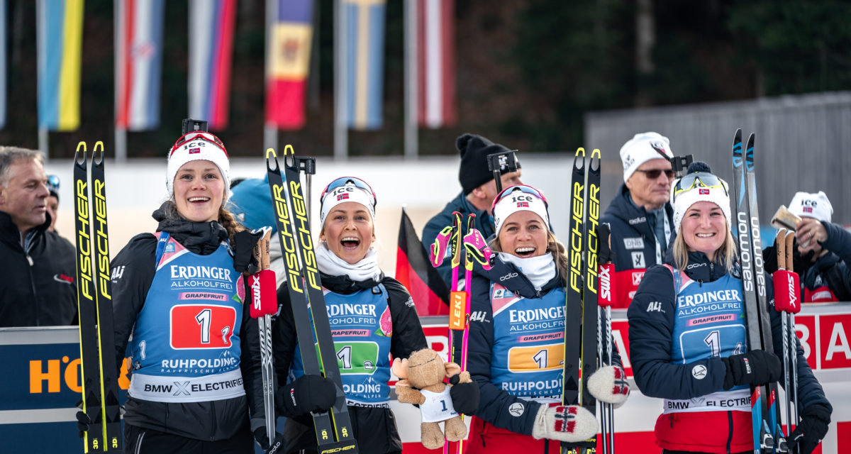 Disse skal gå mixed stafett og sprint for kvinner