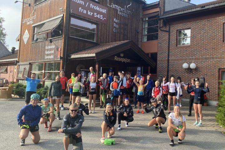 Samlingssuksess for skiskytterne på Lampeland